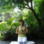 posturas de yoga, diamante, vajrasana