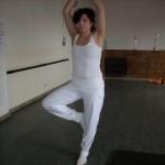 mis posturas de yoga - el arbol
