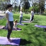 Clases de Yoga libres y gratuitas en #ParqueCentenario