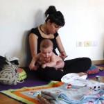 Taller de masaje shantala junio 2017
